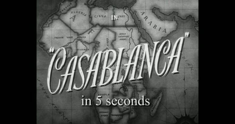 Casablanca in 5 seconds